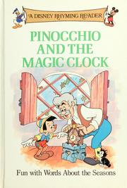 Cover of: Pinocchio and the magic clock | Walt Disney Productions