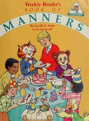 Cover of: Weekly reader's book of manners | Lucille E. Sette