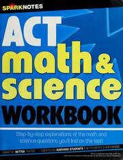 Cover of: ACT math & science workbook | Spark Publishing