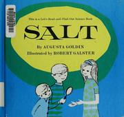 Cover of: Salt | Augusta R. Goldin