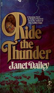Cover of: Ride the Thunder | Janet Dailey