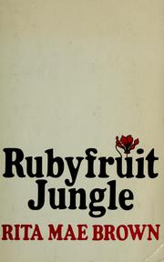 Cover of: Rubyfruit jungle. | Jean Little