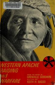 Cover of: Western Apache raiding and warfare |