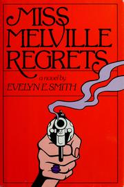 Cover of: Miss Melville regrets | Evelyn E. Smith