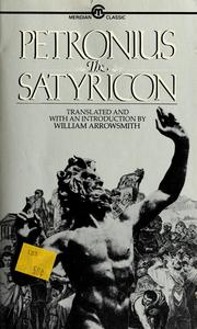 Cover of: The Satyricon