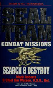 Cover of: Search & destroy | Mark K. Roberts