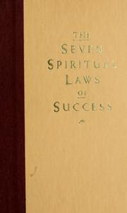 Cover of: The seven spiritual laws of success | Deepak Chopra