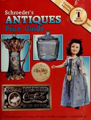 Cover of: Schroeder's antiques price guide | Sharon Huxford