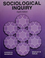 Cover of: Sociological Inquiry |