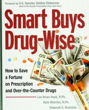 Cover of: Smart buys drug-wise | Lee Brian Haak