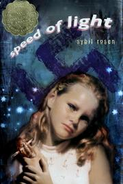 Cover of: Speed of light | Sybil Rosen