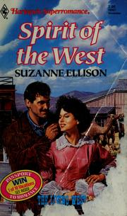 Cover of: Spirit of the West by Suzanne Ellison