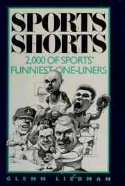 Cover of: Sports shorts |