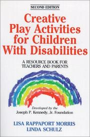 Cover of: Creative play activities for children with disabilities