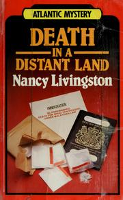 Cover of: Death in a distant land | Nancy Livingston