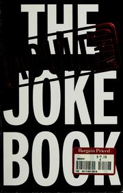 Cover of: The Adult Only Joke Book |