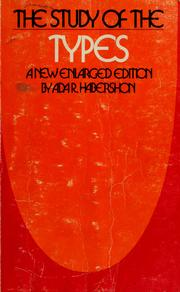 Cover of: The study of the types | Habershon, Ada R.