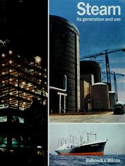 Cover of: Steam, its generation and use | Babcock & Wilcox Company