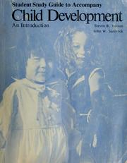Cover of: Student study guide to accompany Child development | Gene Brody