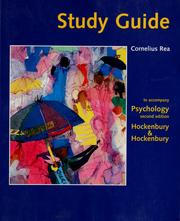 Cover of: Study guide to accompany Psychology | Cornelius Rea