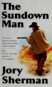 Cover of: The Sundown Man | Jory Sherman