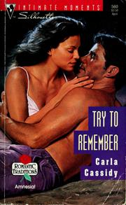 Cover of: Try to remember | Carla Cassidy