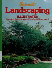 Cover of: Sunset landscaping illustrated |