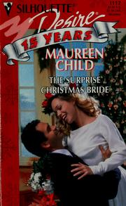 Cover of: Surprise Christmas Bride | Maureen Child