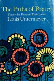 Cover of: The paths of poetry | Louis Untermeyer