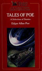 Cover of: Tales of Poe | Edgar Allan Poe