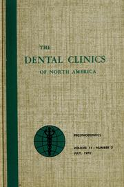 Cover of: Symposium on prosthodontics | Charles L. Bolender