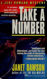 Cover of: Take a number | Janet Dawson