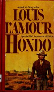 Cover of: Hondo | Louis L'Amour