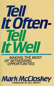 Cover of: Tell It Often-Tell It Well | Mark McCloskey