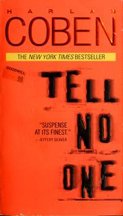 Cover of: Tell no one | Harlan Coben