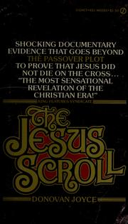 Cover of: The Jesus scroll by Donovan Joyce