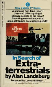 Cover of: In search of extraterrestrials | Alan Landsburg