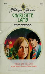 Cover of: Temptation | Charlotte Lamb