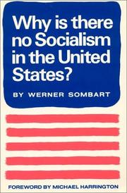Cover of: Why Is There No Socialism
