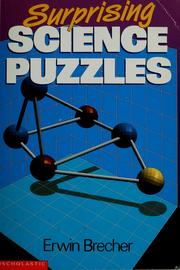 Cover of: Surprising science puzzles | Erwin Brecher