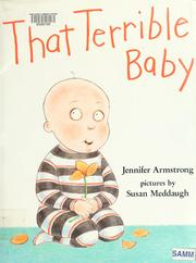 Cover of: That terrible baby | Jennifer Armstrong