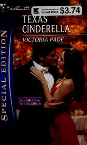 Cover of: Texas cinderella | Victoria Pade