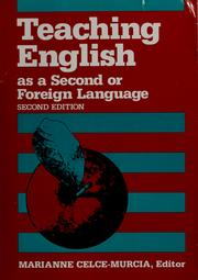 Teaching English as a second or foreign language (1991 ...