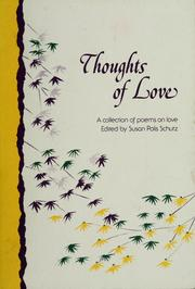 Cover of: Thoughts of love | Susan Polis Schutz