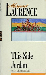 Cover of: This side Jordan | Margaret Laurence