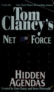 Cover of: Hidden agendas | Tom Clancy