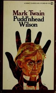 Cover of: Pudd'nhead Wilson