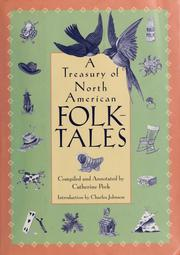 Cover of: A treasury of North American folk-tales | Catherine Peck