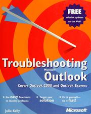 Cover of: Troubleshooting Microsoft outlook | Julia Kelly
