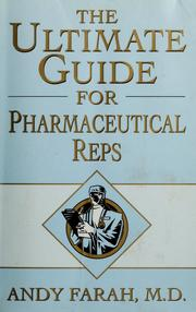 Cover of: The ultimate guide for pharmaceutical reps | Andy Farah